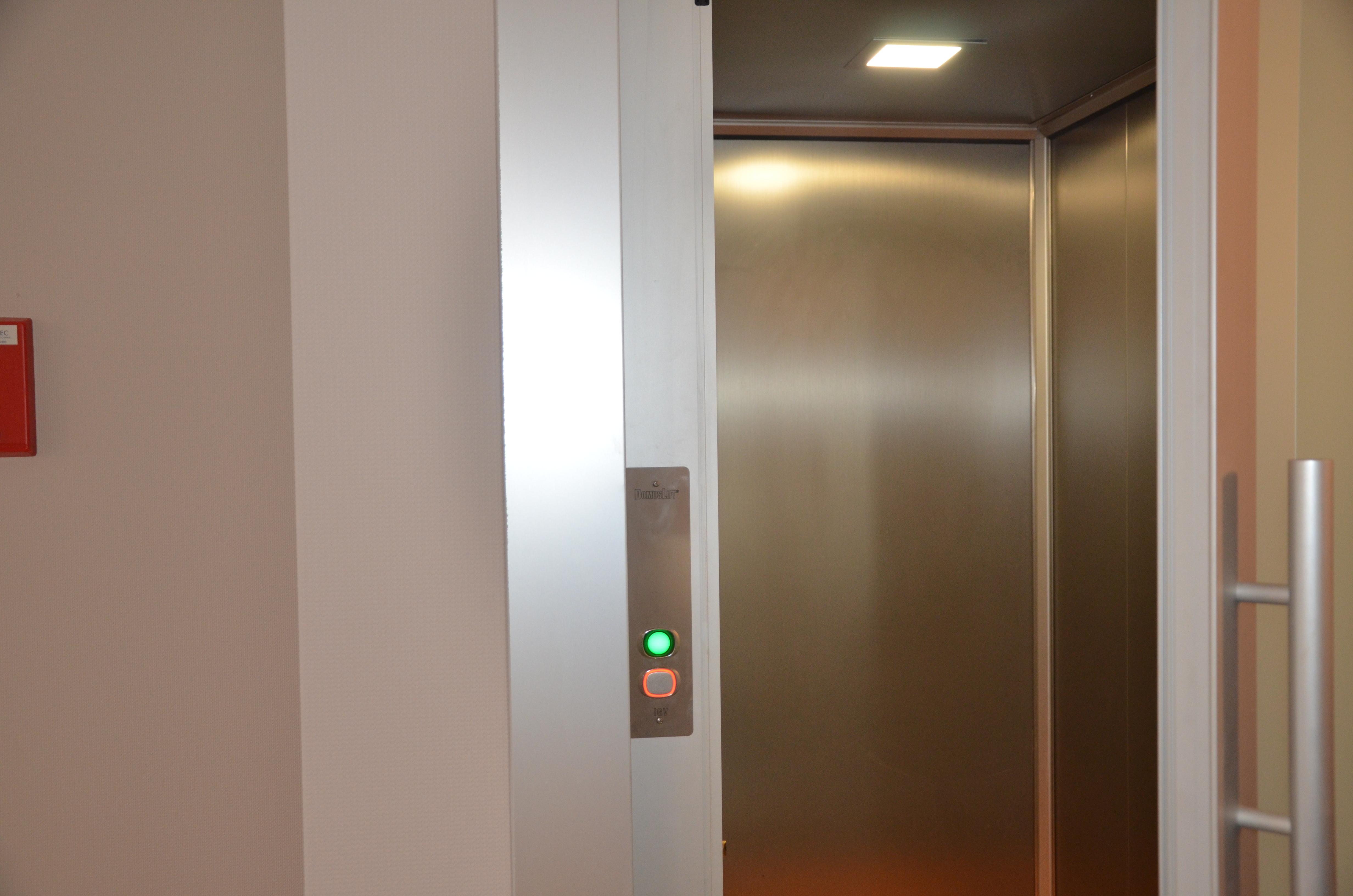Ascenseur ouverture porte