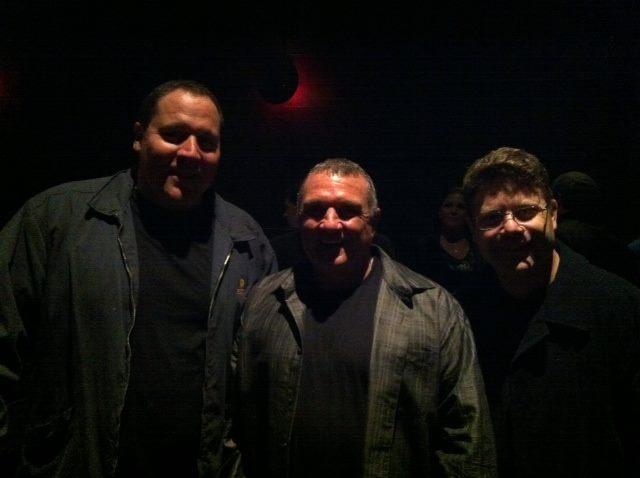 Jon Favreau, Rudy Ruettiger, Sean Astin.