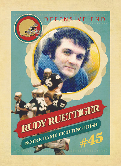Rudy Vintage Collector's Card