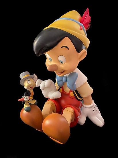 Pinocchio and J. Cricket