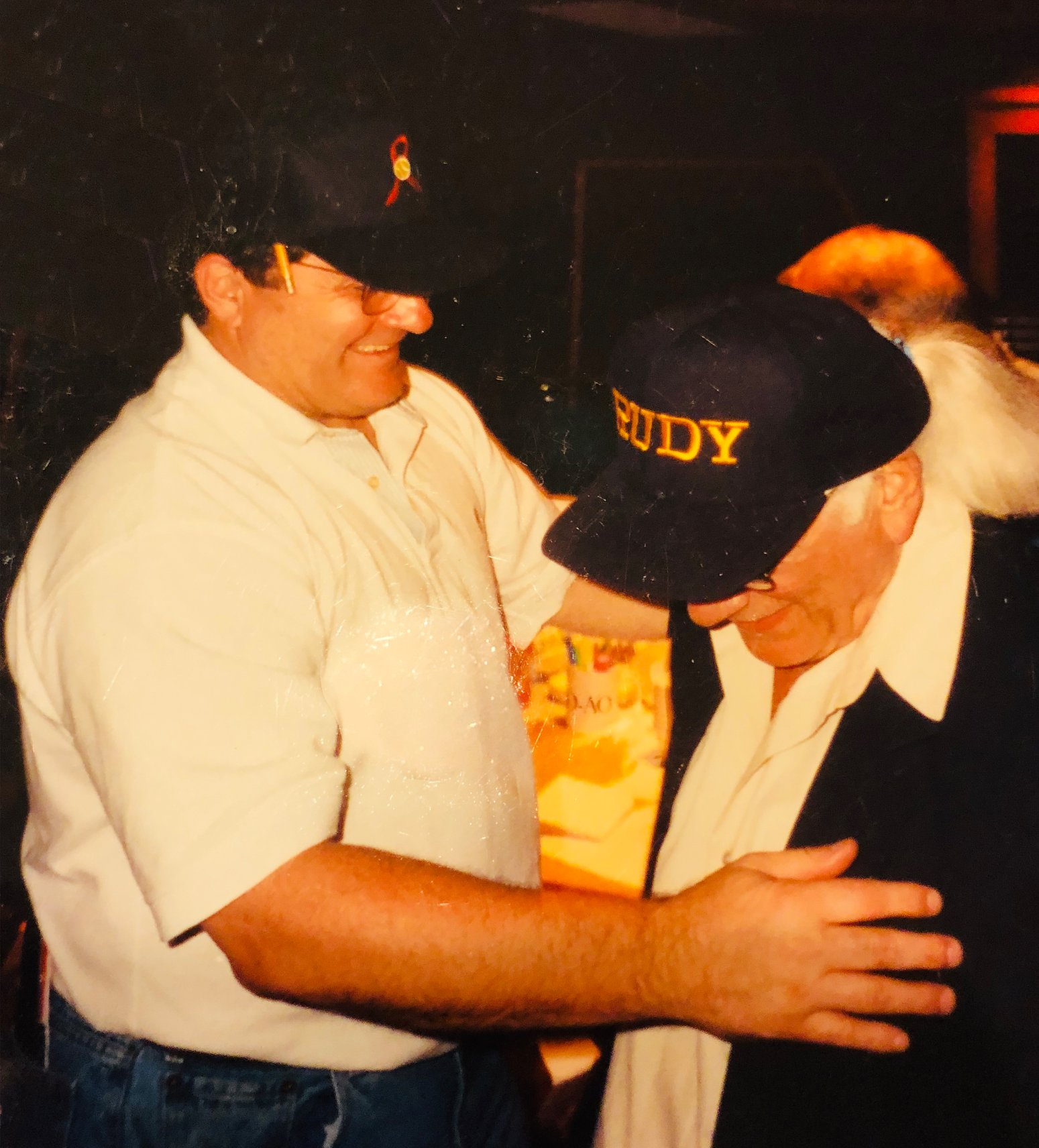 Jerry Goldsmith and Rudy.jpg
