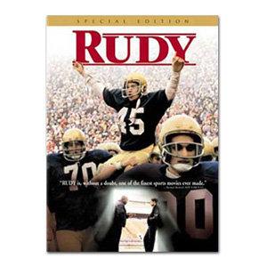 RUDY MOVIE DVD