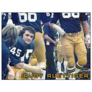 Rudy on the Bench 8x10 Photo