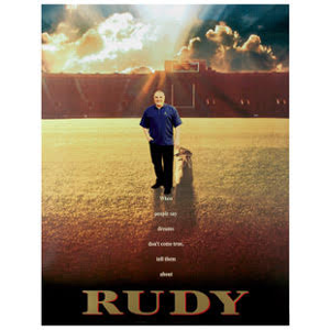 Exclusive RUDY Ruettiger Movie Photo 8x10