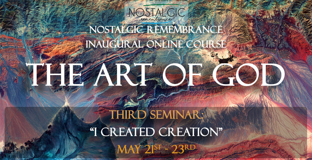 "Art of God: ""I created creation"""