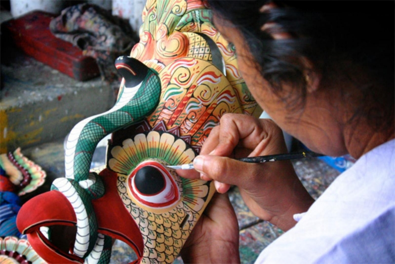 Once treasured by museums and private collectors, mask carving is on the decline with the only remaining aspect being a cottage industry focused on tourism.