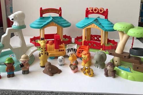 Happy land Zoo - complete set