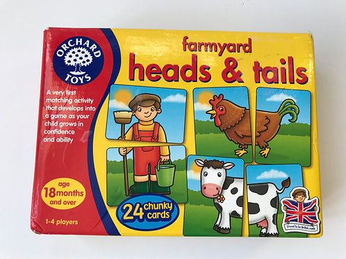 Orchard Games Farmyard Heads & Tails