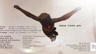 Exposition Jesus Loves You novembre 2019