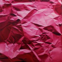 N.A. 72 2014 _Pink paper_ 100x100 cm