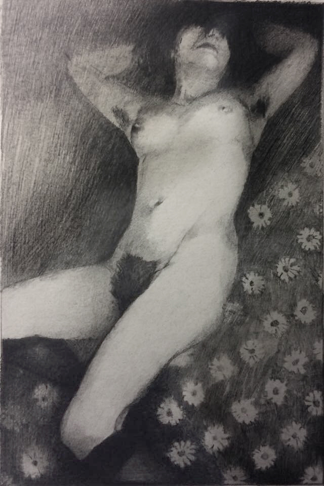 gazon beni- crayon graphite