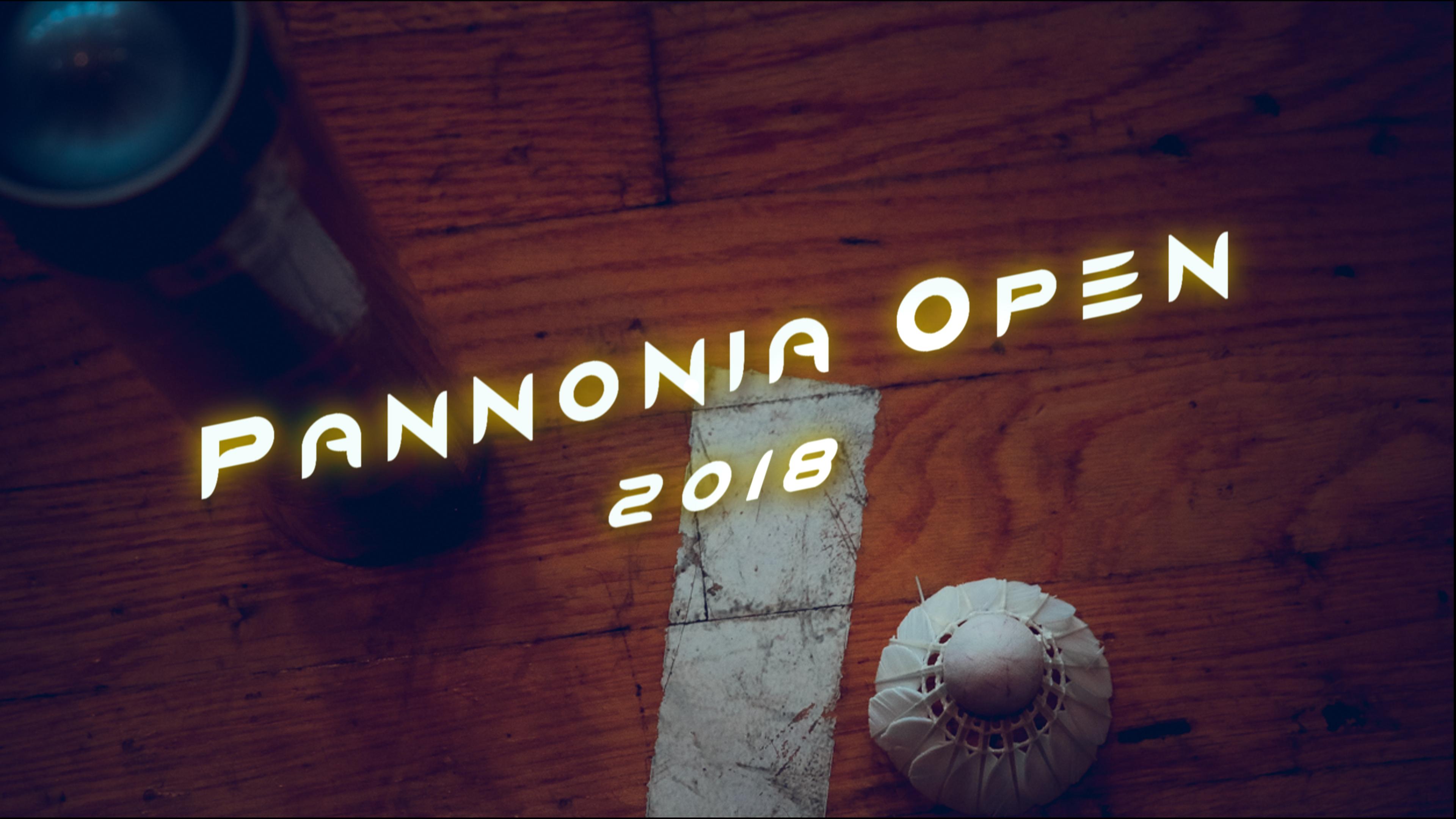 Pannonia Open 2018.