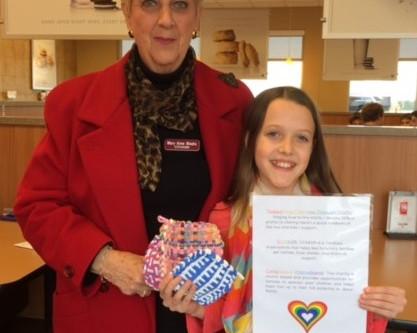11 Year Old Entrepreneur donates profits to CCHASM