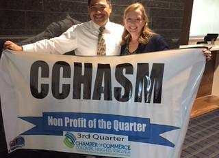 CCHASM named Non-Profit of the Quarter