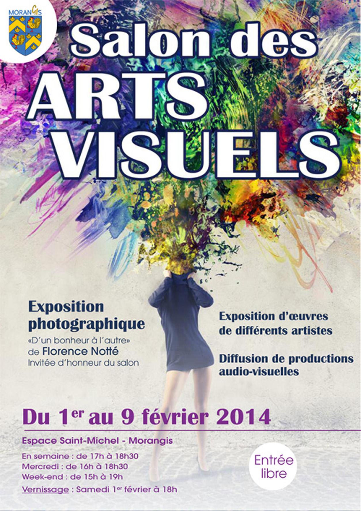 wix Affiche-salon des Arts visuels de Morangis