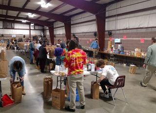 Thankful for Thanksgiving Meal Volunteers