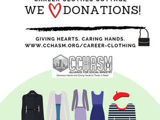 Accepting Women's Clothing Donations