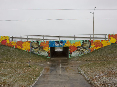 Bradley Avenue Pedestrian Tunnel Mural