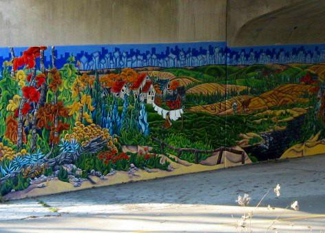 Oxford Street Bridge Mural