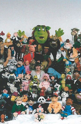Karen Ohland's Muppets and puppets