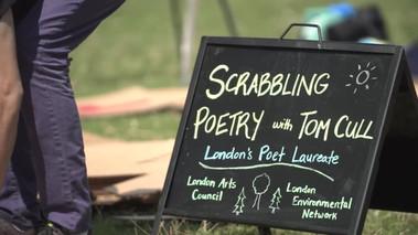 Scrabbling Poetry