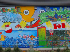 Medway Community Centre Mural