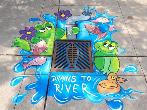 Storm Water Catch Basin Artworks