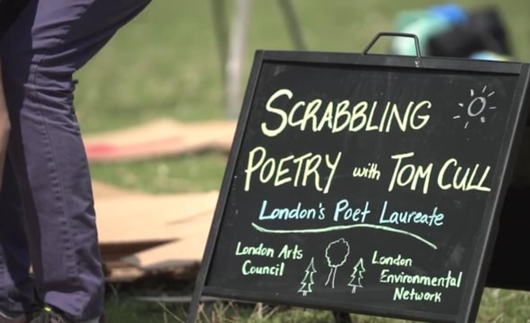 Poet Laureate Presents... Art and Environment: Scrabbling Poetry