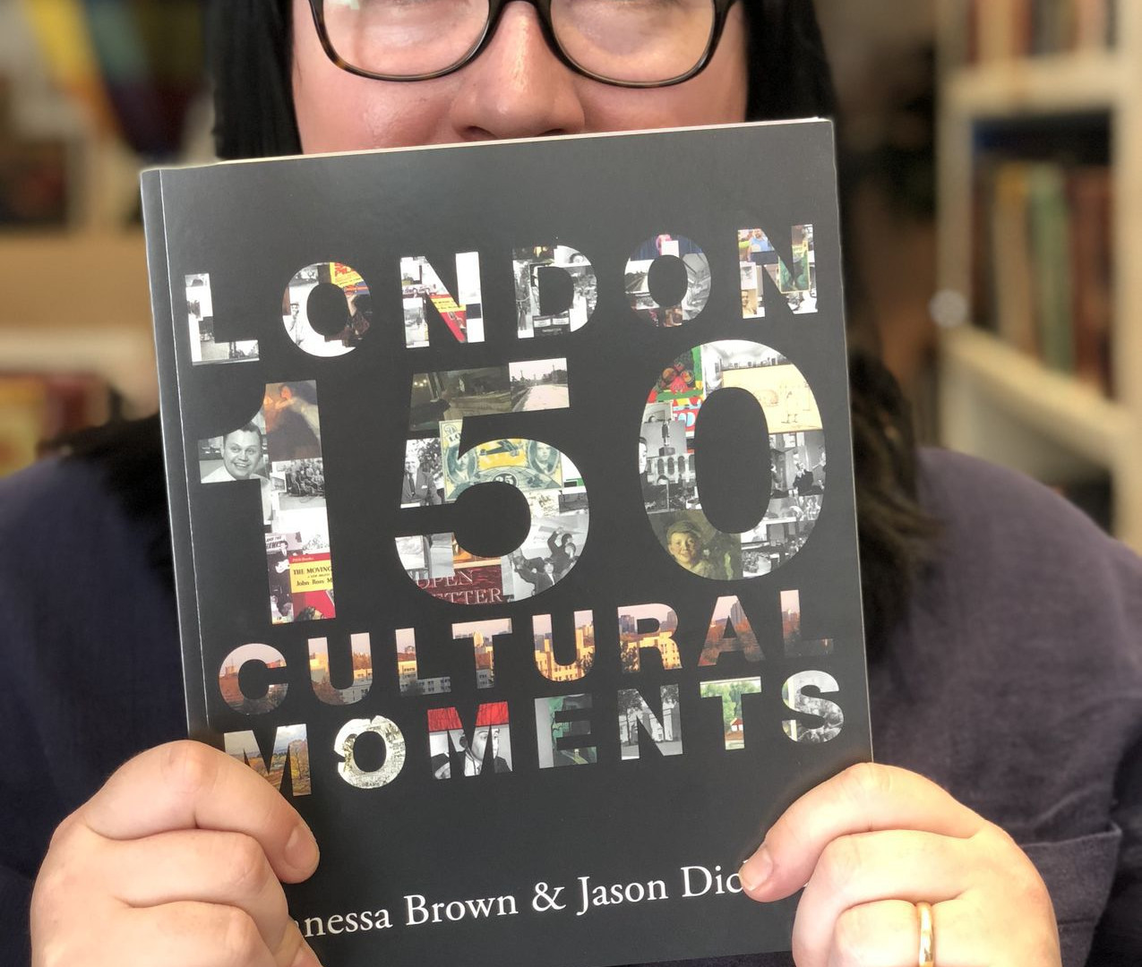 Vanessa Brown with London: 150 Cultural Moments