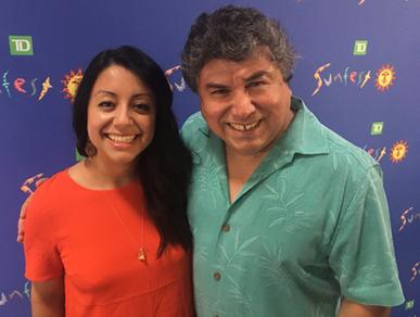 Community Arts Investment Program Recipient - Sunfest -Alfredio & Mercedes Caxaj, Co-Artistic Directors