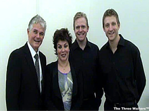 The Three Waiters with Ruby Wax