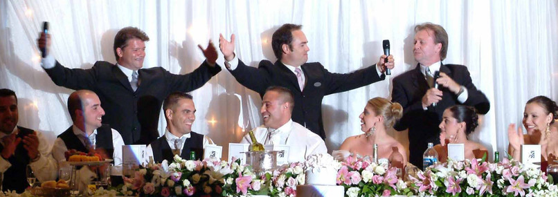 The Three Waiters - Top Table