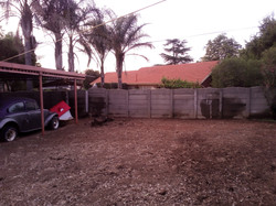 Before Landscaping Commenced