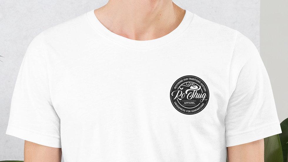 RoThug Short-Sleeve Unisex T-Shirt-Black Logo