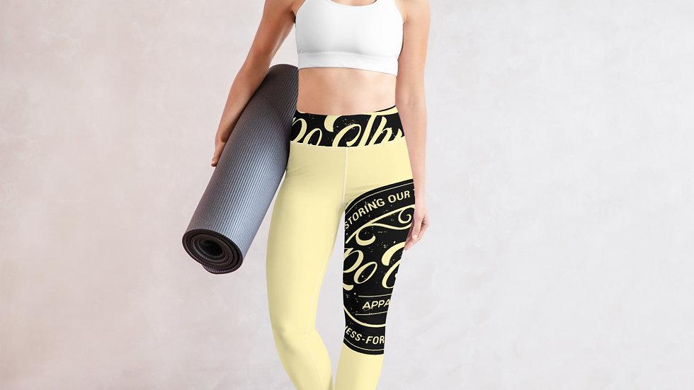 RoThug Yoga Leggings-Yellow