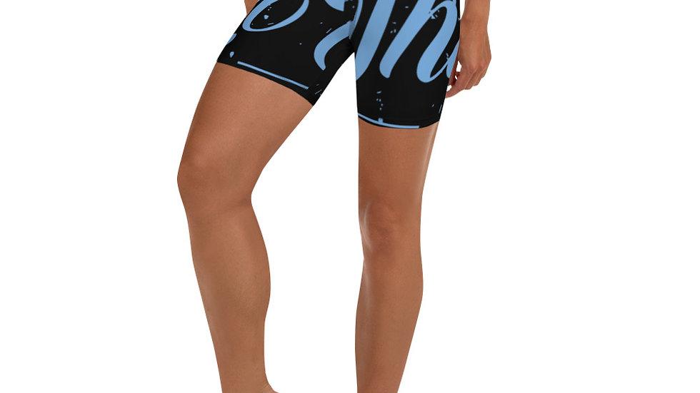 RoThug Yoga Shorts-Light Blue