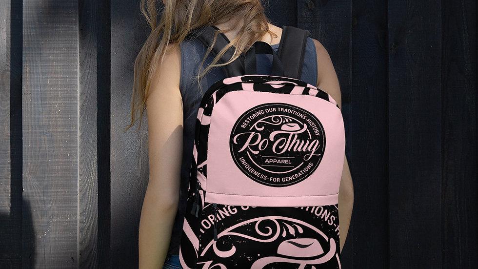 RoThug Backpack-Pink