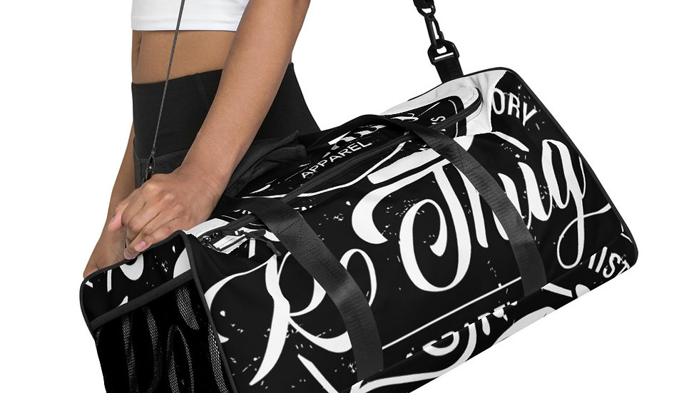 RoThug Duffle bag-White