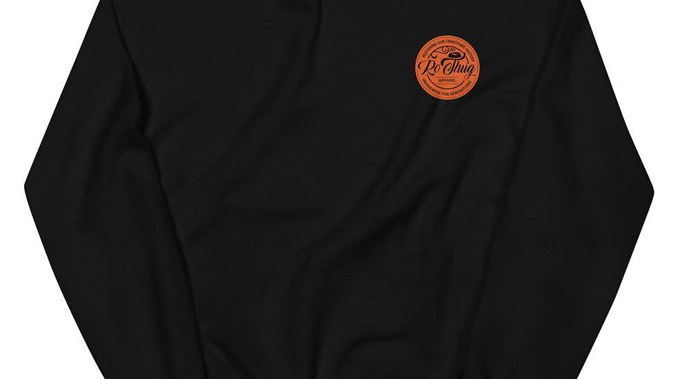 RoThug Unisex Sweatshirt-Orange Logo