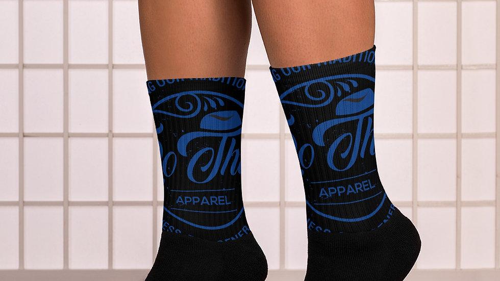 RoThug Socks-Royal Blue