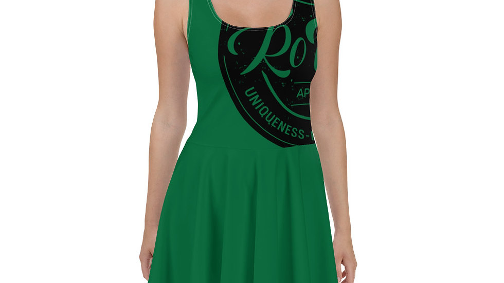 RoThug Skater Dress-Green