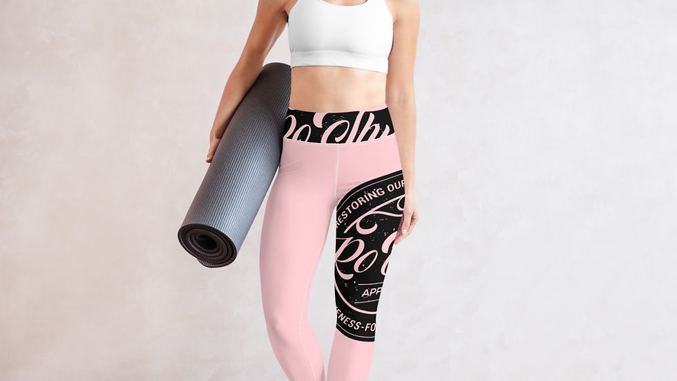 RoThug Yoga Leggings-Pink