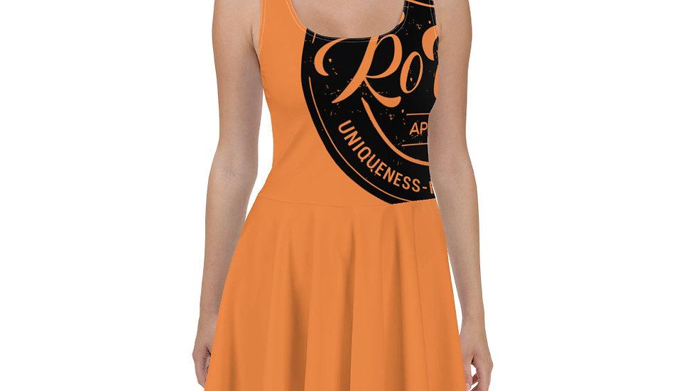 RoThug Skater Dress-Orange