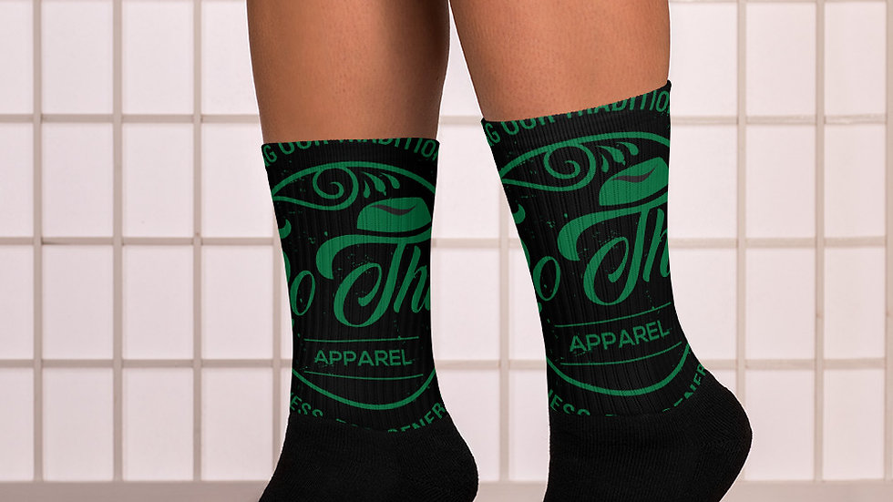RoThug Socks-Green