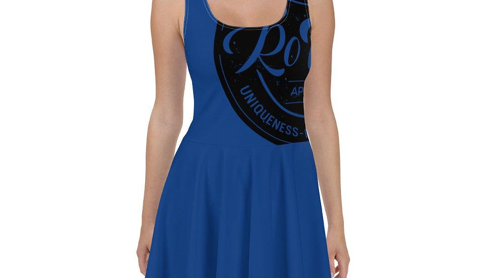 RoThug Skater Dress-Royal Blue