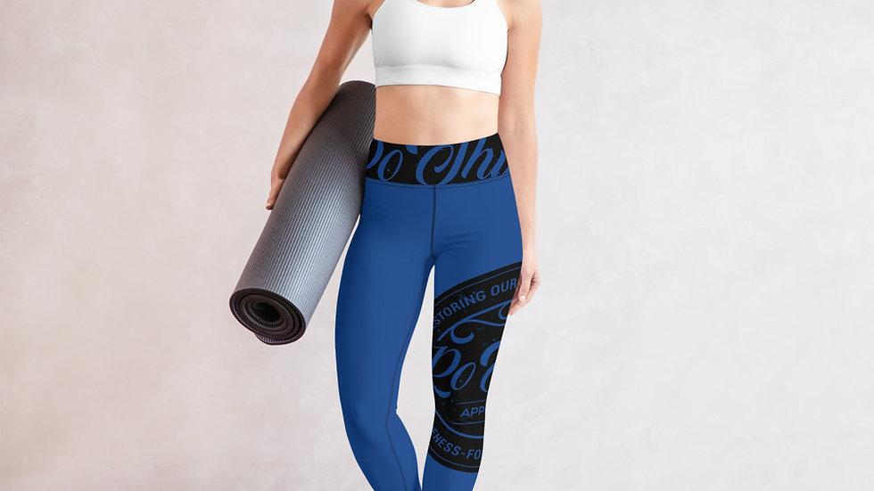 RoThug Yoga Leggings-Royal Blue