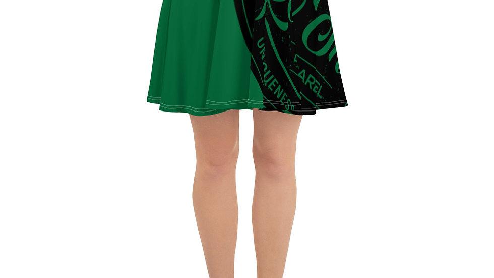 RoThug Skater Skirt-Green