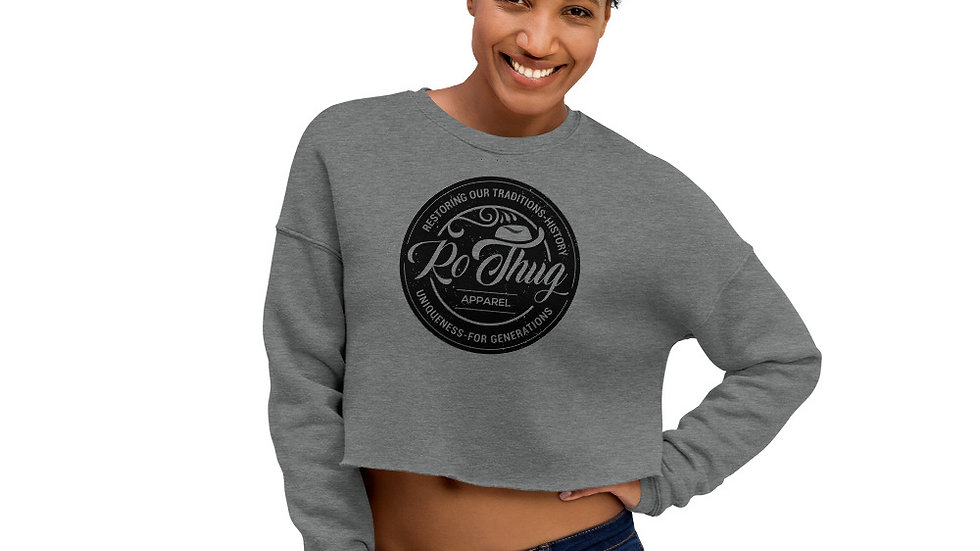 RoThug Women's Crop Sweatshirt