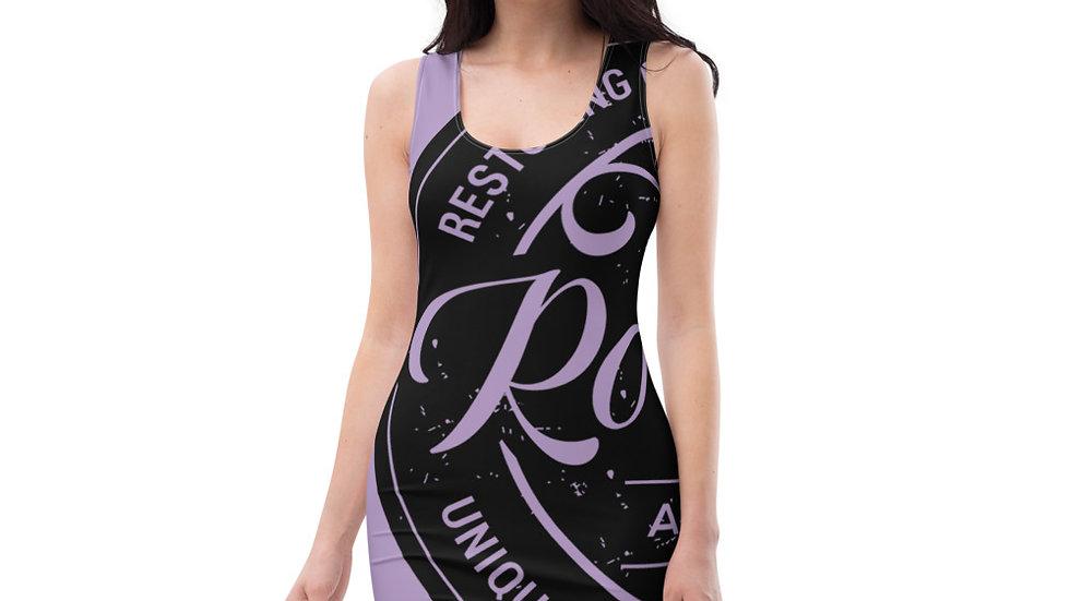 RoThug Sublimation Cut & Sew Dress-Purple