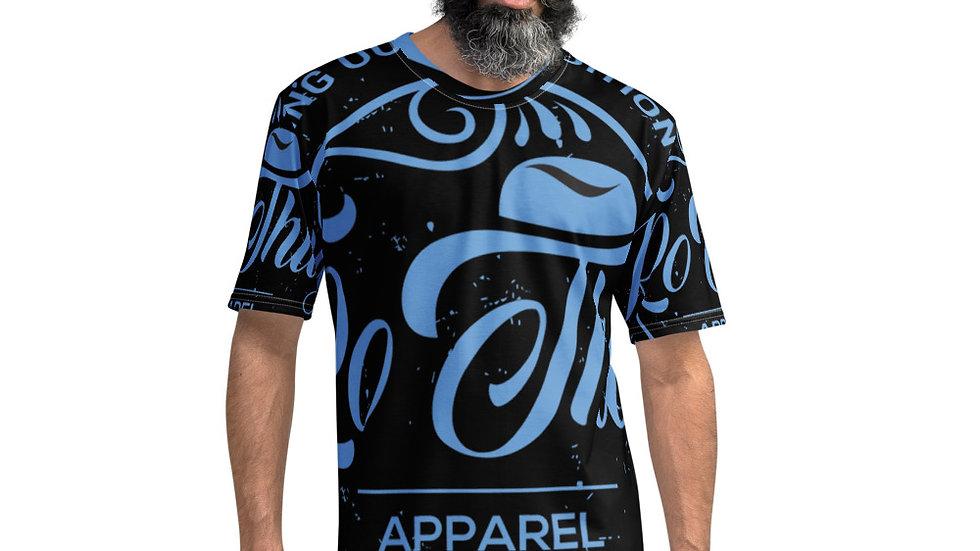 Rothug Men's T-shirt-Light Blue